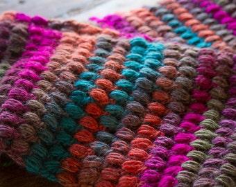 Bubble stitch Cowl