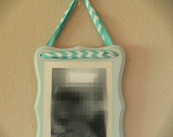 Custom Wooden Plaque Picture with Ribbon