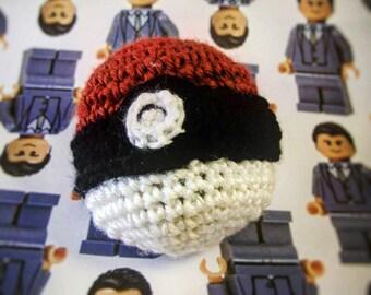Crocheted Hacky Sack (Pokeball, Football, Sushi)
