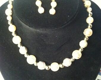 Novad Jewelry Creations Handpainted beads