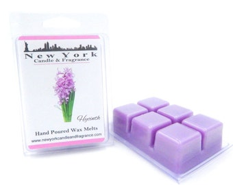 Hycinth Wax Melts -- Highly Fragrant -- New York Candle & Fragrance