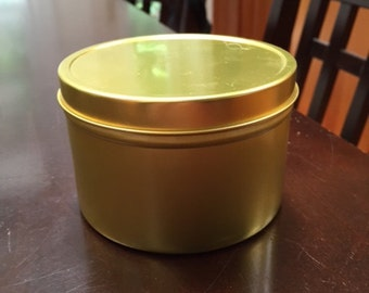 Cute gold tins for your precious items
