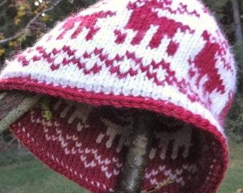 Doubleface hat