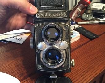 Yashica 635 Vintage 35mm/120mm Film Camera
