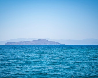 In the distance - travel photography, Greece, C-Type print