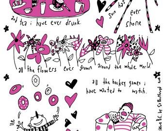 Tea Towel - I Love You More Than...