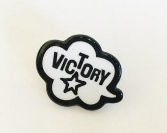 Cute Victory Pin