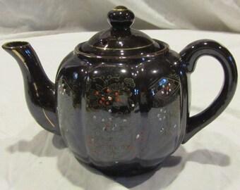 Vintage brown teapot - made in Japan