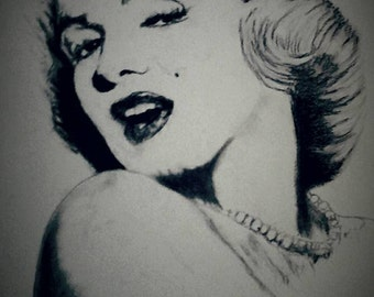 Original 16/20 Marilyn Monroe Portrait