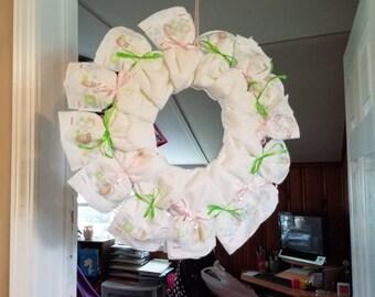 Diaper Wreaths