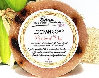 Garden of Edyn Loofah Soap