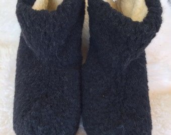 Sheep wool boots slippers