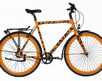 urban bicycle, urban male bicycle, stylish urban bike