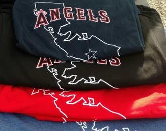 Los Angeles Angels of Anaheim custom T's