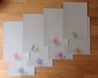 Floral Stationary Set