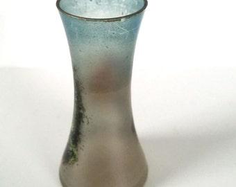 Art Deco glass spill vase made in france 1930