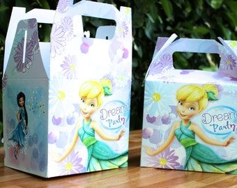 Tinkerbell Party Treat Box - Favor Box