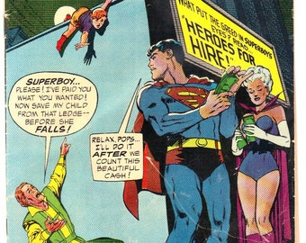 Adventure Comics #377 (1969) VG- 3.5  Superboy