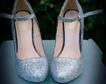 Glitter Customised Shoes