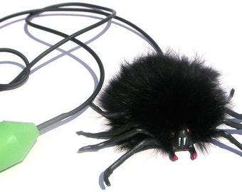 Jumping Spider Toy, Jumping Black Super Hairy Spider, European Toy, Fun Gift