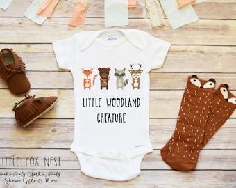 Woodland Creature Onesie®, Baby Boy Onesie®