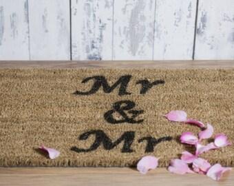 Mr and Mr doormat