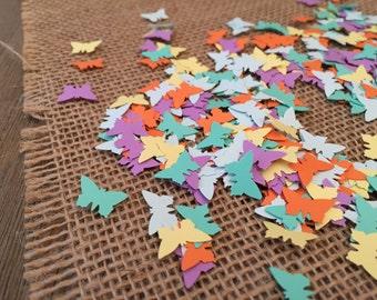 Butterfly Confetti, Bright Confetti, Paper Confetti, Party Supplies, Baby Shower, Bridal Confetti, Table Decorations, Table Decor