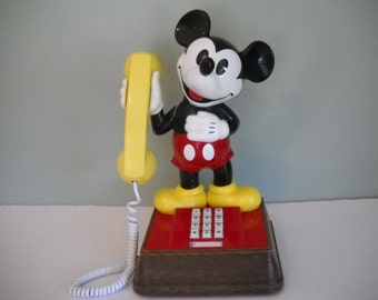 Mickey Mouse Push Button Working Telephone