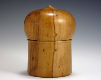 Apple Wood Dome Box B166