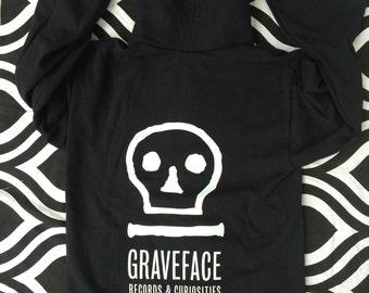 Graveface Records glow in the dark hoodie