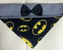 Unique Batman Dog Collars Related Items Etsy