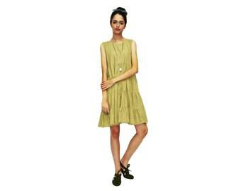 lili layers dress- camel