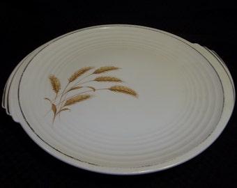 1930s Edwin Knowles Golden Wheat Platter