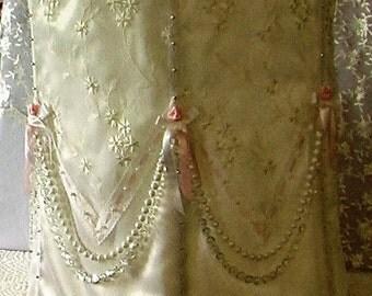 Pink and Pearls Lamp Shade