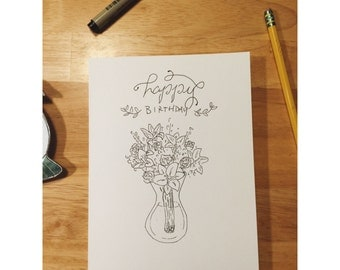 Handmade Greeting Cards made to your specifications