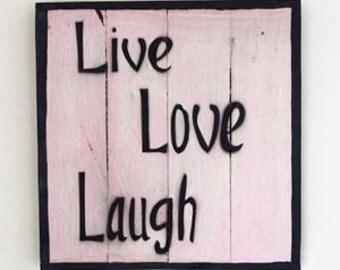 Frame live love laugh