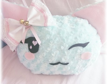 Kawaii Kitty Pillow