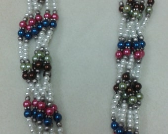 Glass Pearls Necklace
