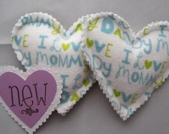 I Love Mommy Let Down Loveys