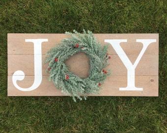 Joy Wooden Sign