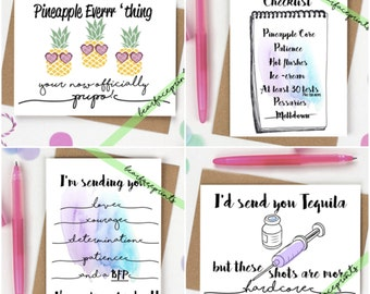 TTC Sister Greeting Card Pack {4}
