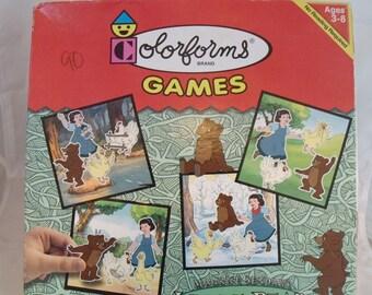 Vtg Colorforms Game Maurice Sendak's Little Bear