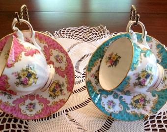 Rosina teacups and saucers.
