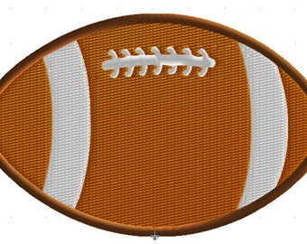 Machine Embroidery Design, Football