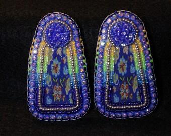 Native American Beaded Style Earrings