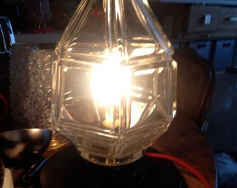 Former globe lamp