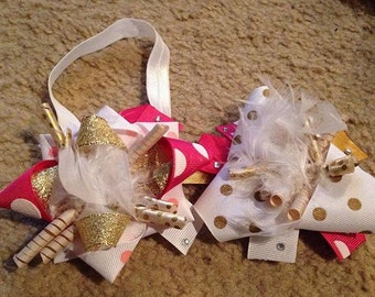 HandCrafted Bows and tutus