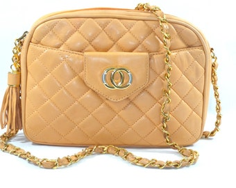 Chanel nappa leather bag apricot (pe 428/079p)