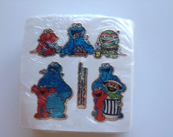 100 Sheets of Sesame Street Muppets Stickers/Decals  - Brand New!