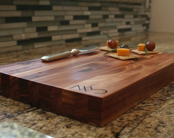 Handmade Cedar cheese/sushi serving tray